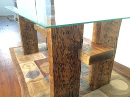 glass table top made from large crate lumber u2022 1001 pallets