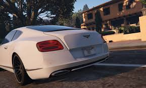 bentley azure white 2012 bentley continental gt gta5 mods com