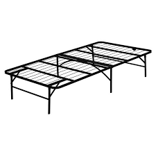 furinno angeland mattress foundation platform metal bed frame