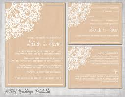 rustic save the date templates
