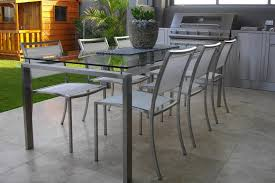 Steel Patio Chairs Silver Square Contemporary Steel Patio Chairs Laminated Design For