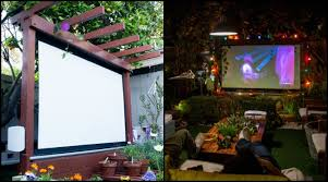 How To Make A Backyard Movie Theater Bring More Entertainment To Your Backyard By Building An Outdoor
