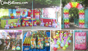 hawaiian theme combo party package at cordova home resort cebu