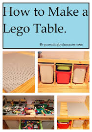 Legos Table Crafting By Dummies How To Make A Lego Table Dude Mom