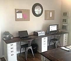 Home Office With Two Desks Dual Desk Home Office Awesome Two Person Home Office Two Person