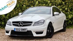 used mercedes c class used mercedes c class c63 amg edition 125 white 6 2 coupe