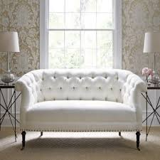 a white leather tufted sofa do you think it is a good idea