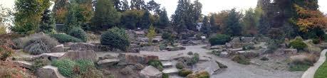 Rock Garden Bellevue Rock Sculpture At Bellevue Botanical Garden Mapio Net