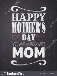 chalkboard mother u0027s day design illustration