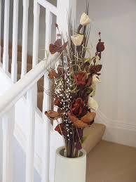 Fake Flower Arrangements Amazon Co Uk Artificial Mixed Floral Arrangements Home U0026 Kitchen