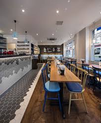 kitchen restaurant design fab restaurant design at gourmet burger kitchen bands of hexagon