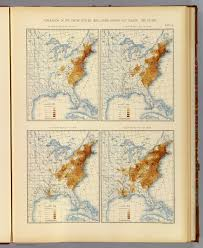 1820 Map Of United States by 3 Population 1790 1820 David Rumsey Historical Map Collection