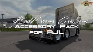 scania trucks badkarma customs accessory pack for rjl scania trucks zagruzka