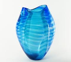 Turquoise Glass Vase Handmade Glass Vase In Hellertown Pa Pondelek U0027s Florist U0026 Gifts