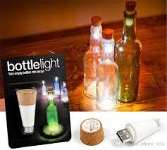 cork shaped rechargeable bottle light 2018 ed christmas bottle light cork shaped rechargeable usb bottle