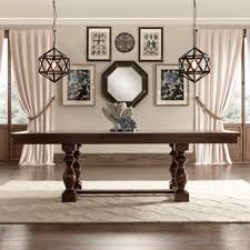 artefama tower dining table artefama tower distressed pine wood 95 inch dining table free
