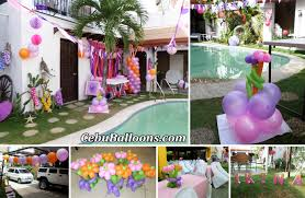 Home Interior Parties by Pristine Cebu Cebu Balloons In Party Decoration At Fairview