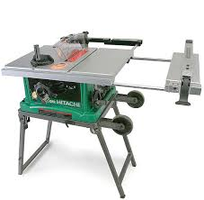 C10fr Portable Tablesaw Review Fine Homebuilding Hitachi Table Saw