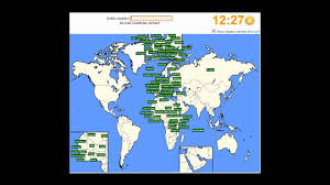 World Countries Map Quiz by I Complete The Sporcle Countries Of The World Quiz Youtube