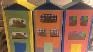 Trash To Treasure Diy Milk Carton Doll Houses Youtube