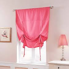 Tie Up Window Curtains A Little Innovation With Tie Up Curtains Drapery Room Ideas