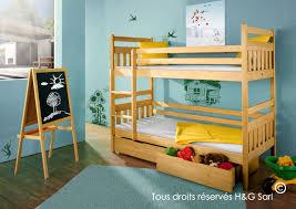 chambre lit superposé lit superposé séparable en pin massif pour chambre ado et enfant