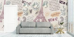 chambre d h e romantique papiers peints mur aux dimensions myloview fr