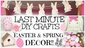 last minute u0026 easy diy easter u0026 spring decor crafts 2016 youtube
