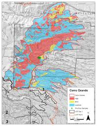 Wildfire Map America by Jemez Field Trip October 2014 Southwest Fire Science Consortium