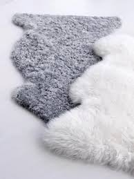 ludde sheepskin off white faux sheepskin rug bedrooms and room