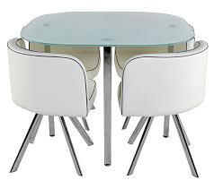 ensemble table et chaise de cuisine pas cher table 4 chaises melo blanc tables but