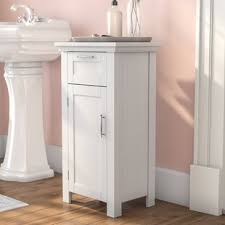 Free Standing Bathroom Shelves Bathroom Cabinets You Ll