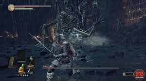 Dark Souls Map Curse Rotted Greatwood Boss Dark Souls 3