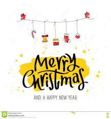 quote happy christmas quote merry christmas and a happy new year stock vector image