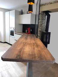bar de cuisine moderne bar de cuisine bois photos de design d intérieur et décoration de