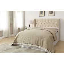 republic design house archer grey tufted upholstered headboard