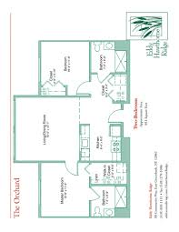 floor plans for the senior apartments at eddy hawthorne ridge in