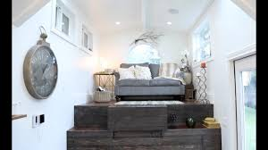 Pop Up Tiny House by Vintage Glam Tiny House Raises The Roof Youtube