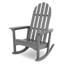 Gray Rocking Chair Best 25 Adirondack Rocking Chair Ideas On Pinterest Garden