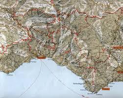 Hiking Maps Praiano Amalfi Coast Map Image Gallery Hcpr