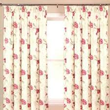 Pink Pleated Curtains Buy Ready Made Pencil Pleat Curtains Online Harry Corry On Sale