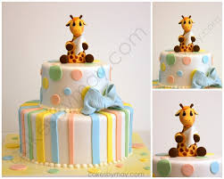 giraffe baby shower cake giraffe baby shower cake cakes by cakes