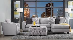 Gray Living Room Set Blue Gray Yellow Living Room Furniture Ideas Decor