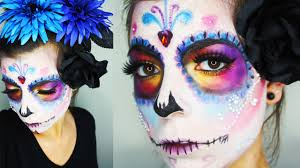 Halloween Makeup Dia De Los Muertos Sugar Skull Dia De Los Muertos Day Of The Dead Halloween