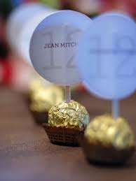 Design Your Own Place Cards Weddings Party Favor Projects And Ideas Party Favors Ferrero