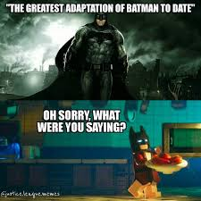Justice League Meme - lego batman is the best batman green arrow by justice league memes
