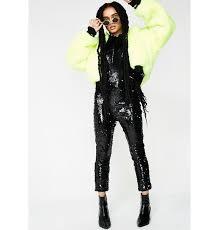 black sequin jumpsuit halter sequin black jumpsuit dolls kill