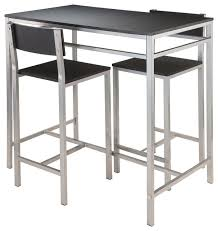 bar stool table set of 2 innovative bar pub furniture 25 best ideas about table and intended