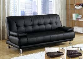 white leather futon sofa chelsea faux leather futon sofa bed black 1025theparty com