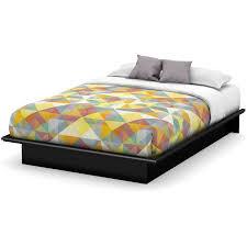 south shore basics full platform bed with molding 54 u0027 u0027 multiple